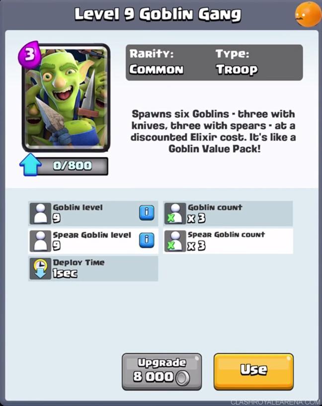 CLASH ROYALE New Troop : Goblin Gang – Photawn